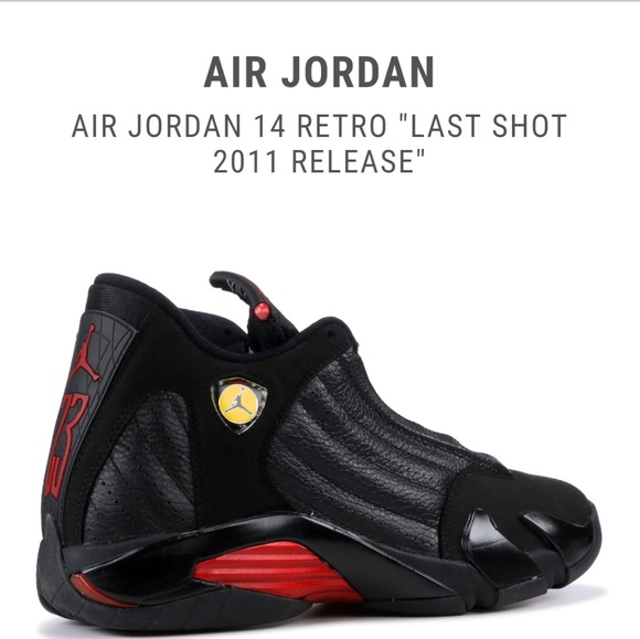 cheap for discount a8363 8b8b3 Kids Jordan's 14 Final Shot size 10C